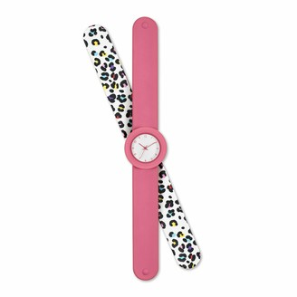 Tikkers Girl's Analogue Analog Quartz Watch with Silicone Strap ATK1038