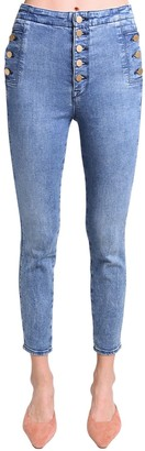 J Brand NATASHA HIGH RISE STRETCH SKINNY JEANS