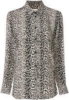 Saint Laurent Petit Leopard shirt