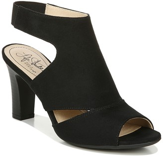 LifeStride Cara Peep Toe Sandal - Wide Width Available