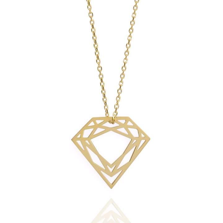 Myia Bonner 9ct Gold Classic Diamond Necklace