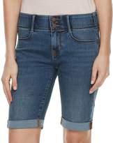 Apt. 9 Women's Tummy Control Bermuda Jean Shorts