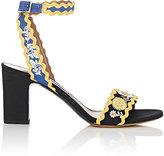 Tabitha Simmons Women's Barva Spain Linen Ankle-Strap Sandals