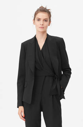 Rebecca Taylor Tailored Gabardine Suiting Jacket