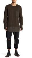 Helmut Lang Trooper Crew Neck Sweater