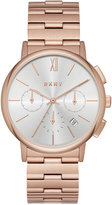 DKNY Women's Chronograph Willoughby Rose Gold-Tone Stainless Steel Bracelet Watch 36mm NY2541