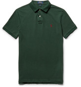 Polo Ralph Lauren Slim-fit Cotton-piqué Polo Shirt - Green