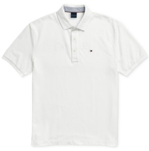 Tommy Hilfiger Adaptive Men's Custom-Fit Ivy Polo Shirt with Magnetic Buttons