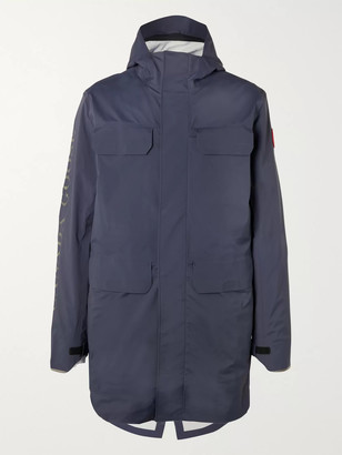 Canada Goose Seawolf Logo-Print Tri-Durance Hooded Jacket