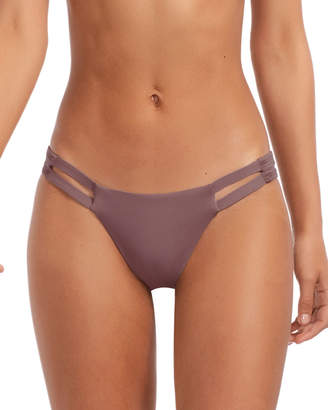 Vitamin A Neutra Cheeky Hipster Bikini Bottom, Galet