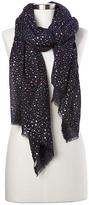 Gap Wool ditsy star print scarf