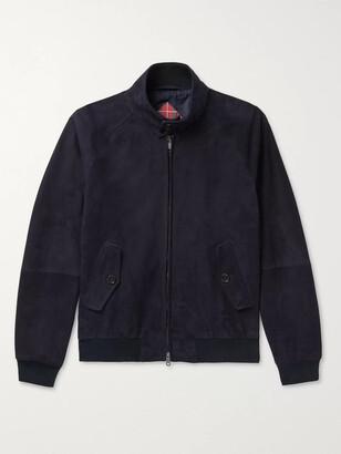 Baracuta G9 Suede Harrington Jacket