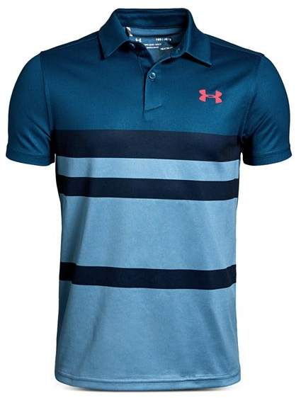 a51a0120 Under Armour Blue Boys' Polos - ShopStyle