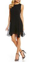 CeCe Sleeveless Handkerchief Dress