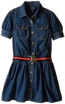 Polo Ralph Lauren Denim Shirtdress (Big Kids)