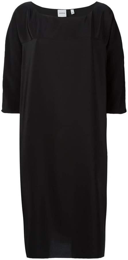 Aspesi round neck shift dress