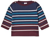 Petit Bateau Marine Blue Striped Sweater