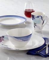 Lenox Dinnerware, Indigo Watercolor Stripe Collection, Created for Macy's