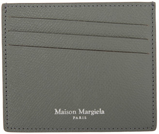 Maison Margiela Grey Classic Card Holder