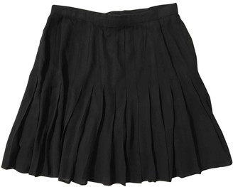 Escada Black Silk Skirt for Women