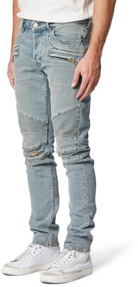 Hudson Blinder Biker Skinny Fit Ripped Jeans