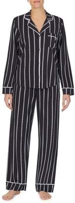DKNY Sleepwear 2-Piece Striped Pyjama Set