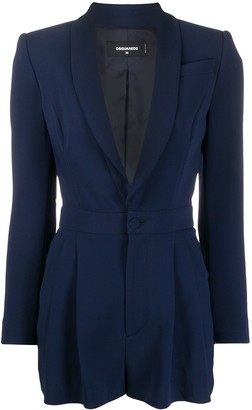 DSQUARED2 Fitted Blazer Playsuit