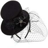 Accessorize Mini Top Hat With Brooch