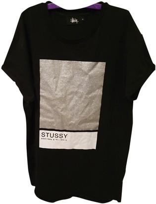 Stussy Black Cotton Tops