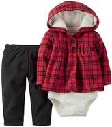 "Carter's Baby Girls' ""Riding Hood"" 3-Piece Outfit"