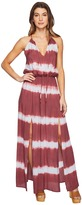 Culture Phit Emmalee Tie-Dye Maxi Dress with Slit