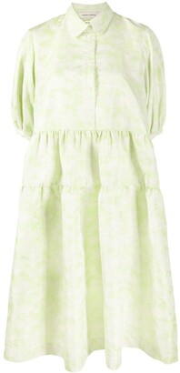 Henrik Vibskov Light Clouds babydoll dress