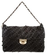 Nina Ricci Woven Leather Bag