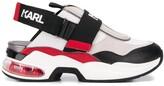 Karl Lagerfeld Paris logo slingback flatform sneakers