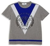 Versace Little Boy's & Boy's Geometric Graphic Tee