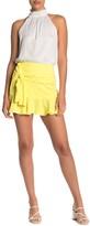 Do & Be Do + Be Tie Front Mini Skirt