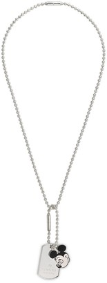 Gucci Disney x silver necklace