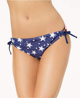 California Waves Juniors' Americana Side-Tie Bikini Bottoms, Created for Macy's Women's Swimsuit