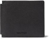 Lanvin Pebble-grain Leather Billfold Wallet - Black