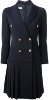 Moschino double breasted coat dress