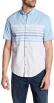 HUGO BOSS Stripe Short Sleeve Shirt