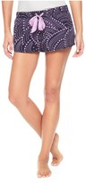 Juicy Couture Rayon Voile Rainbow Stars Short