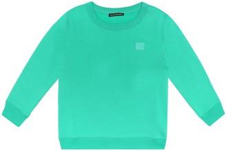 Acne Studios Kids Mini Face cotton sweatshirt