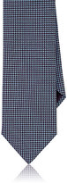 Brioni Men's Neat Jacquard Necktie-PURPLE