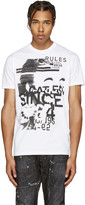 DSQUARED2 White Rules T-Shirt