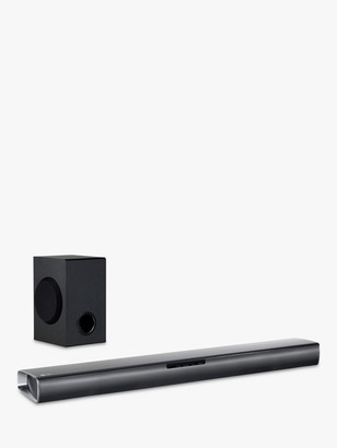 LG Electronics SJ2 Bluetooth Sound Bar with Wireless Subwoofer, Black