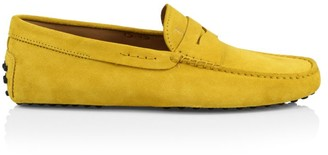 Tod's Gommini Suede Penny Loafers