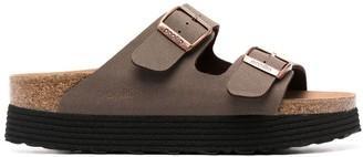 Birkenstock Papililo platform Arizona sandals