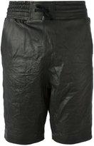 Alexandre Plokhov leather shorts