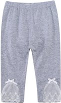 Richie House Girls' Crooped Pants Leggings RH2684-D